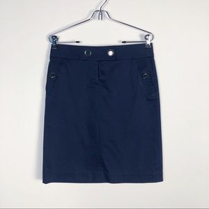 J. CREW FITTED PENCIL SKIRT